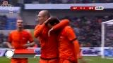 进球视频-日本后卫解围失误 范德法特单刀挑射