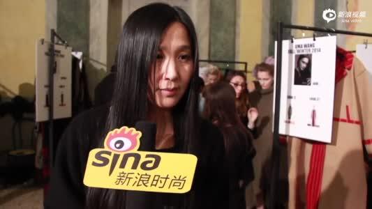 独家视频:专访设计师uma Wang
