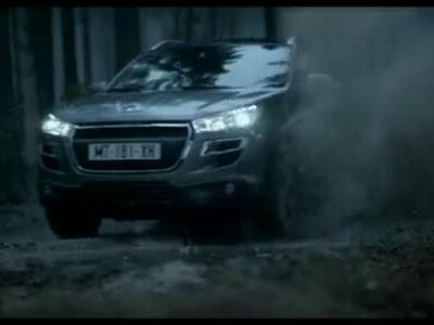 2012法国标致Peugeot 4008 官方TVC广告视频
