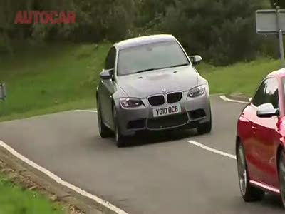 Audi RS5 vs BMW M3 by Autocar-山东万通汽修学校