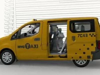 NV200纽约出租车全面赏析Nissan_NY_TAXI_RAY_3