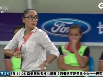 奥运热身赛女足2-1