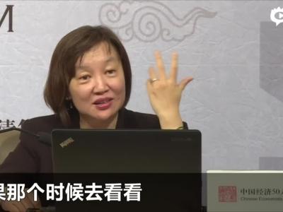 视频:梁红谈储蓄率和房地产