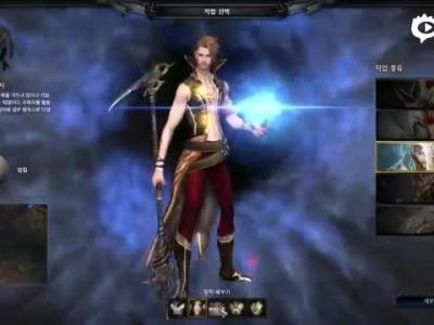 《MU:Legend》职业选择及角色捏脸