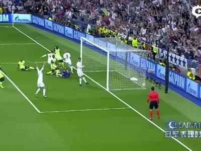 贝尔造乌龙皇马1-0曼城 决赛再演马德里德比