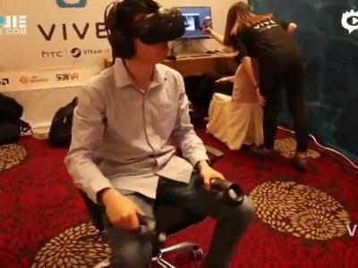 3分钟带你看完HTC Vive中国战略VR生态圈大会