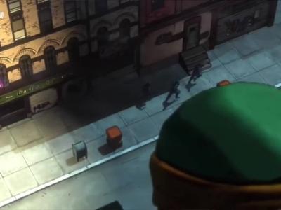 多人在线动作游戏《忍者神龟》宣传动画
