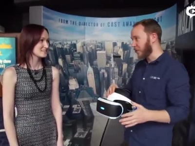 用PS VR体验摩天大楼走钢丝