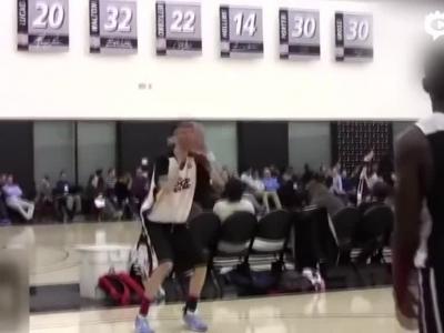 周琦NBA体测暴光