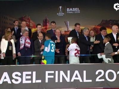 欧联杯决赛颁奖典礼