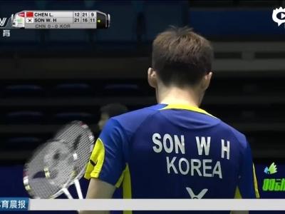 汤杯国羽1-3不敌韩国