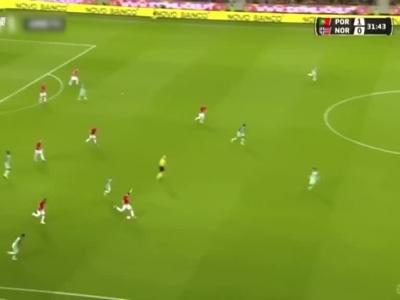无C罗葡萄牙热身3-0完胜