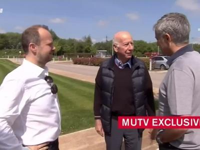 穆里尼奥开工首日会见曼联高管