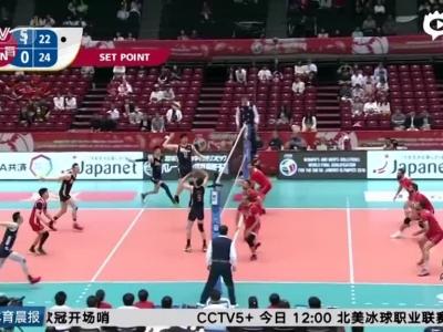 男排惜败2-3负伊朗