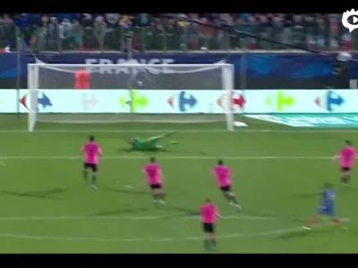 吉鲁双响法国3-0