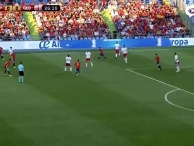 热身西班牙0-1爆冷