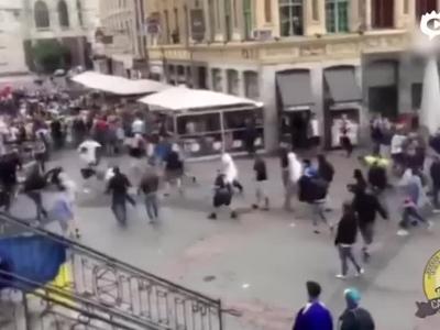 德乌大战赛前球迷抵触
