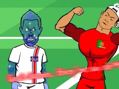 动画恶搞葡萄牙遭逼平