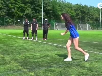 欧洲美男秀球技
