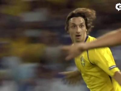 伊布欧洲杯进球全纪录