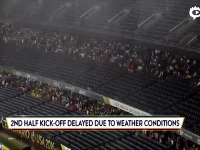 美洲杯因雷暴延迟