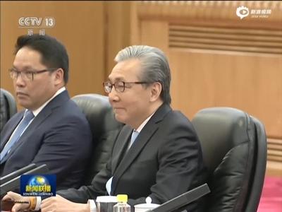 张高丽会晤泰国副总理