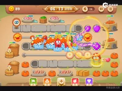 保卫萝卜3冒险模式集市第二关