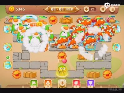 保卫萝卜3冒险模式集市第五关