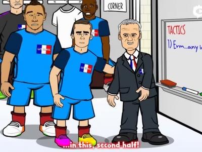 动画恶搞法国晋级