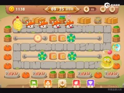 保卫萝卜3冒险模式集市第二十二关