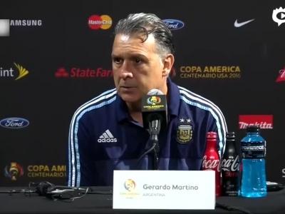 阿根廷主帅马蒂诺辞职