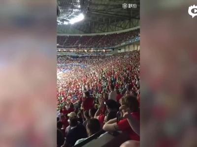葡萄牙球迷高唱C罗名字