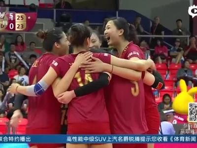 总决赛女排2-3荷兰遭逆转