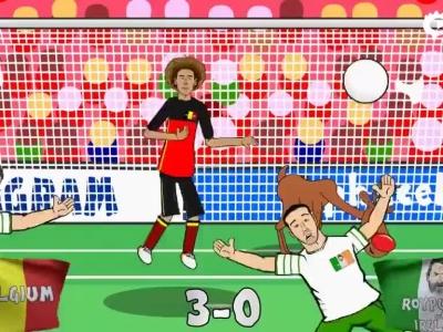 两分钟看完动画版欧洲杯