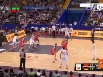 男篮热身71-67胜德国