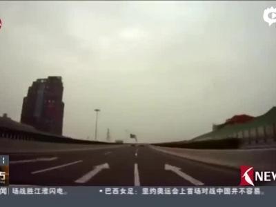 上海中环保时捷狂飙时速超180 车主否认自己驾驶