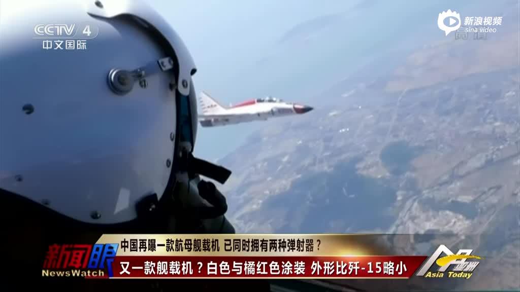 中国舰载教练机曝光 可大量培训舰载机飞行员