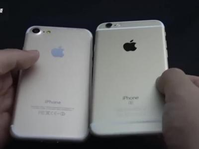 这些只iPhone 7机模 但真机应该也就这个样子了