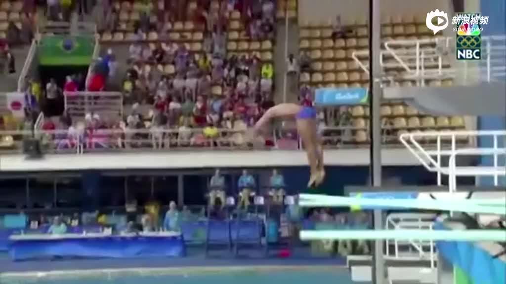 0分!俄跳水卫冕冠军跪着入水尴尬出局