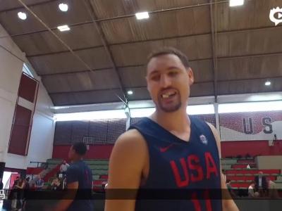 探营美国男篮训练基地
