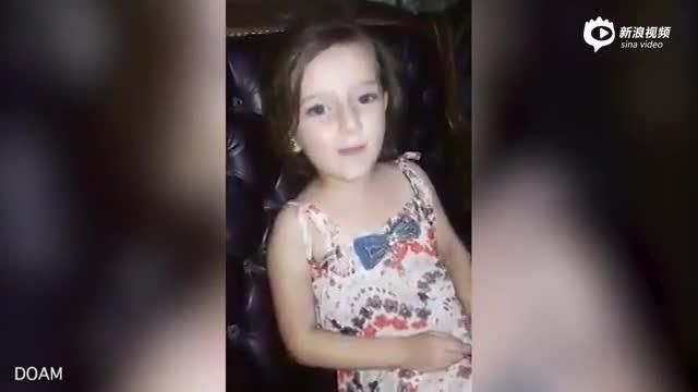 心碎!叙利亚女孩正开心唱歌 下一秒遭炸弹袭击