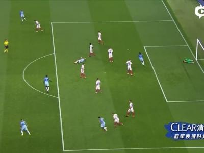 曼城1-0进欧冠正赛
