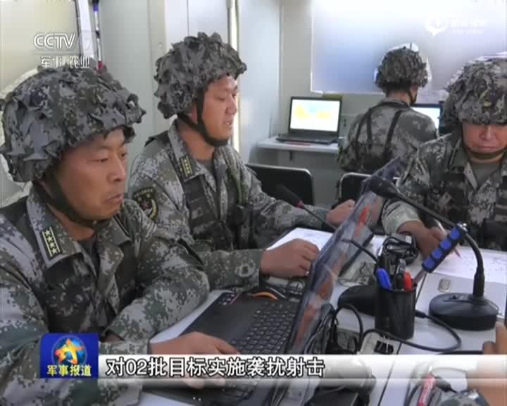 解放军演习弹炮合一防空 红旗7导弹惊艳亮相