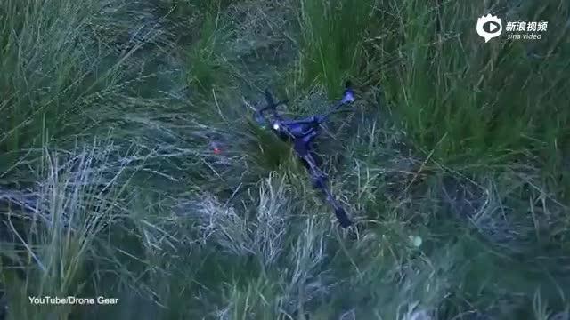 澳8岁女童打高尔夫 竟一杆打中无人机