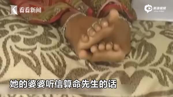 印度恶毒婆婆占卜媳妇怀女孩 竟朝孕肚泼强酸