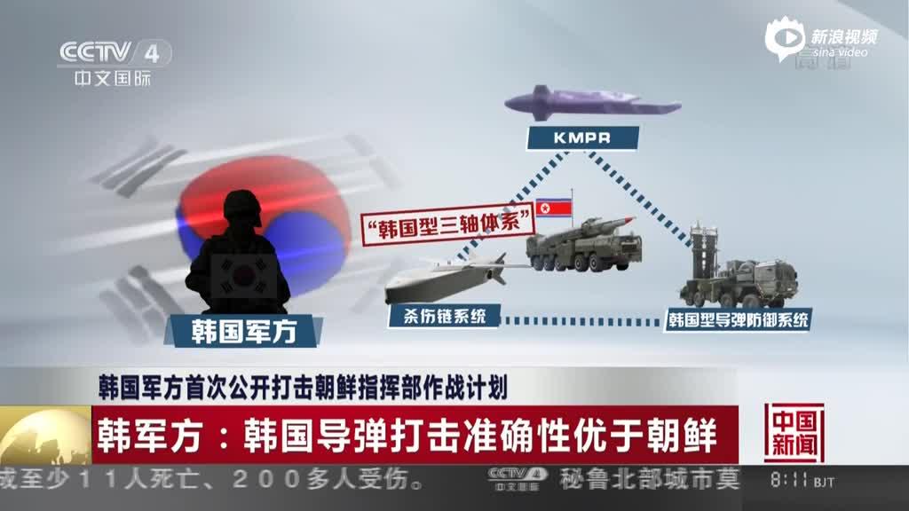 韩军方首次公开