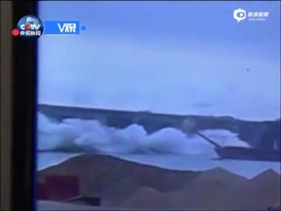 监拍:江西省泰和县桥梁坍塌瞬间