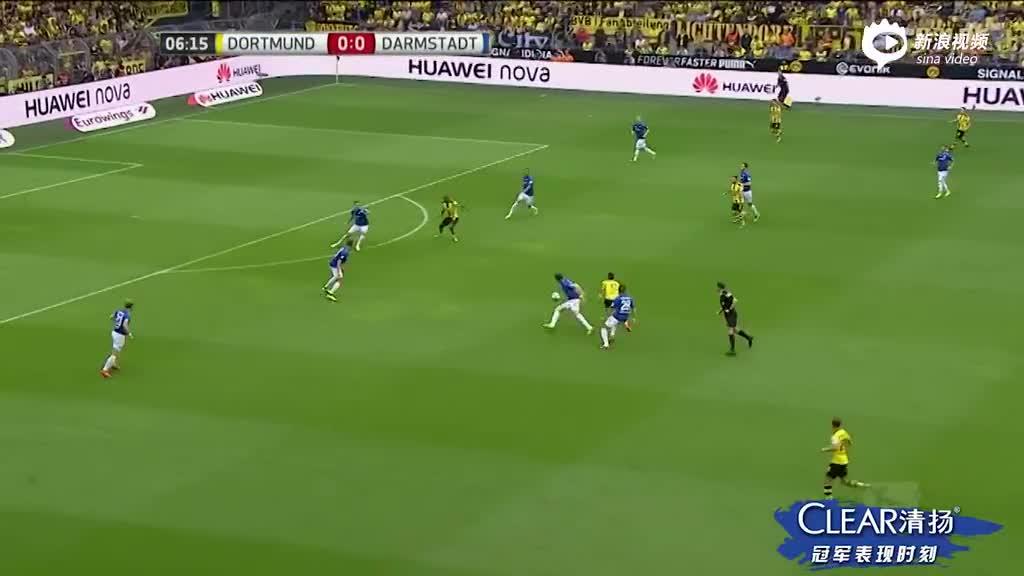进球视频-门将断球发动反击 卡斯特罗门前推射破僵