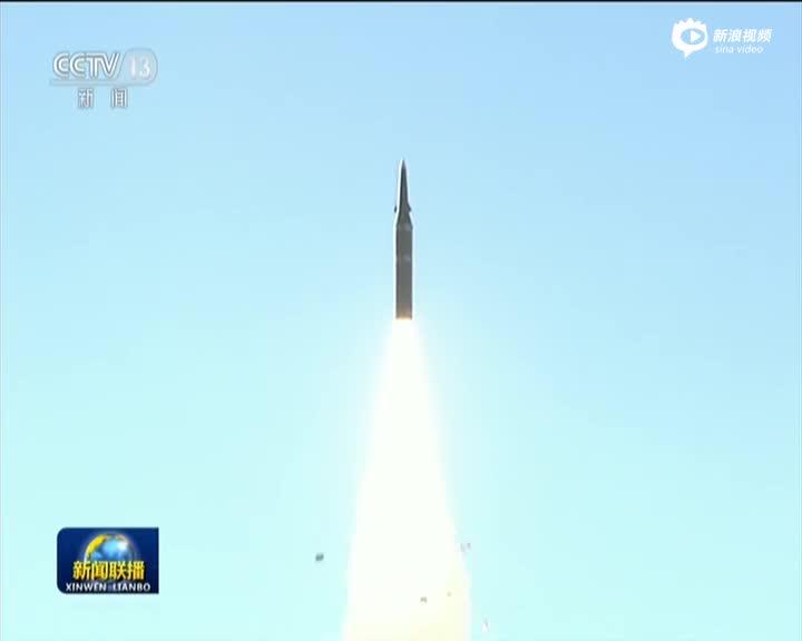 中国火箭军高调展示东风21C实弹发射全程