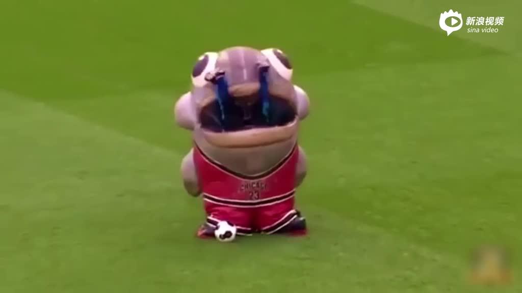 视频-愤怒吉祥物生吞教练 吃干抹净又吐了出来